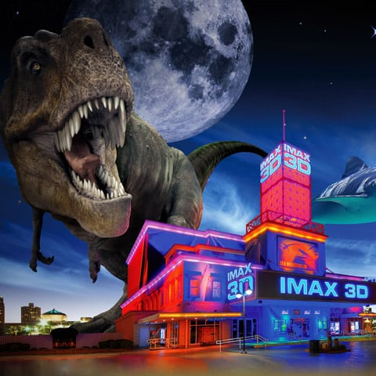 IMAX 3D Lenticular Poster.
