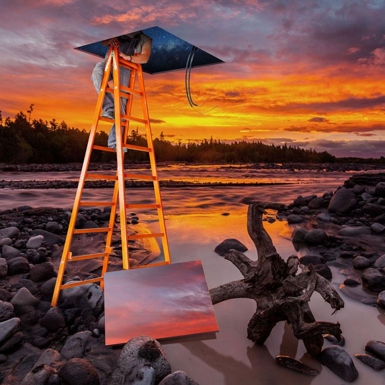 Sunset Ladder.